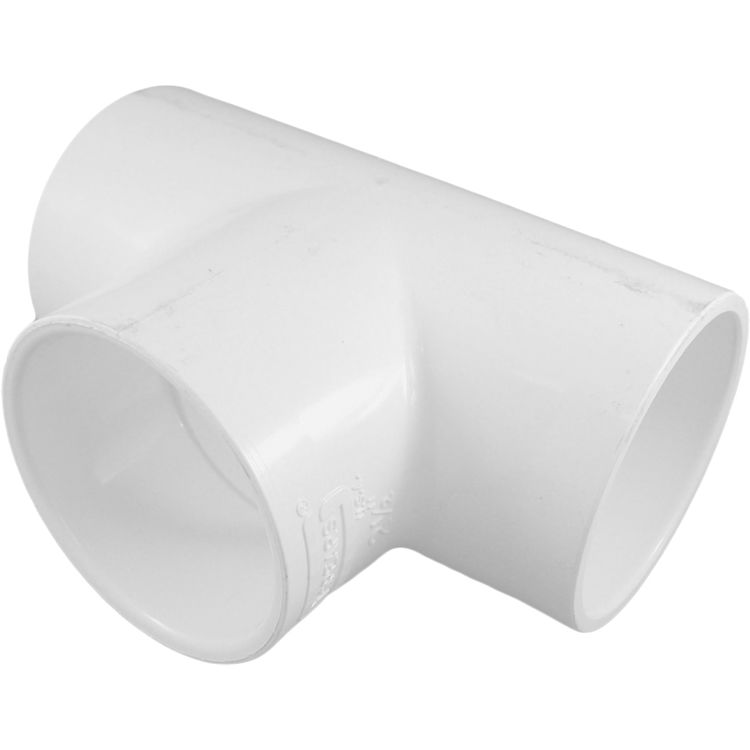 Commodity  Schedule 40 PVC 2-1/2 Inch Tee