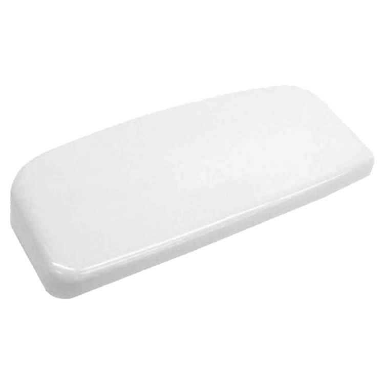 View 2 of Toto TCU454CRE#01 Toto TCU454CRE#01 Cotton White Toilet Tank Lid with Velcro Tape - Replacement