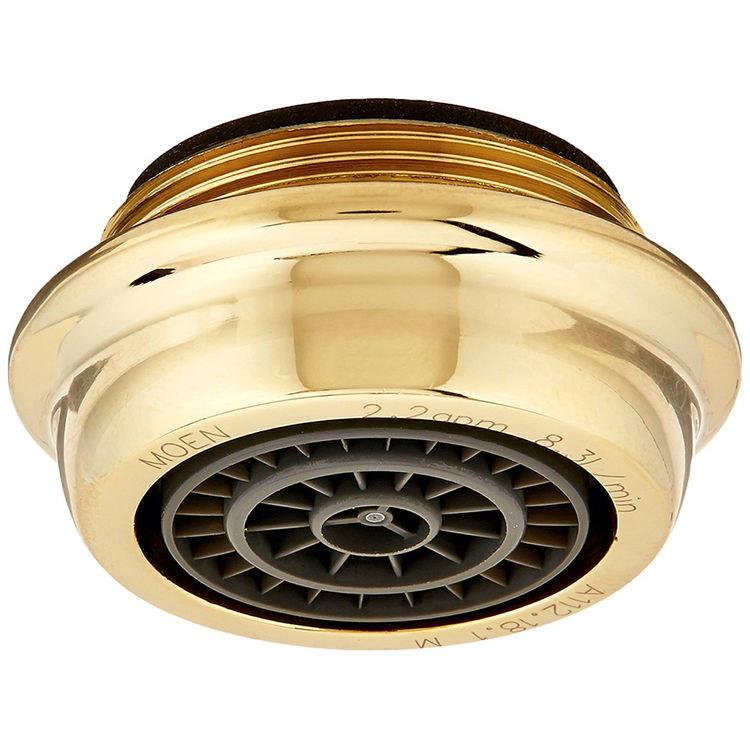 Moen 100112P Moen 100112p Part 22 Gpm Male Aerator Polished Brass