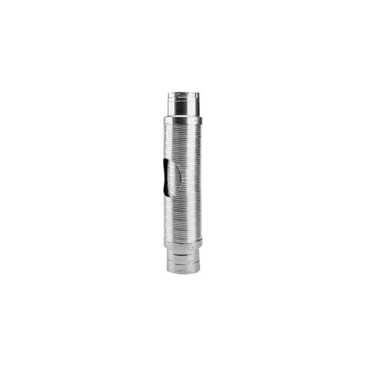Metal-Fab MDWF0604 Metal-Fab MDWF0604 B-Flex Double-Wall Flexible Type B Vent Pipe Length - 6 Inch Diameter x 4 Foot