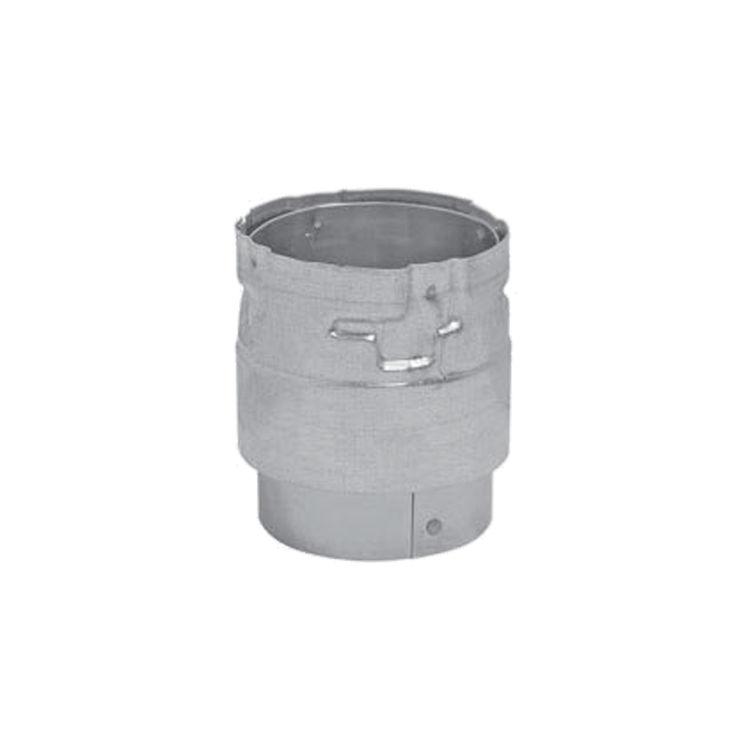Metal-Fab 3PSAB Metal Fab 3PSAB 3 Biomass Chimney L Vent Black Stove Adapter 3
