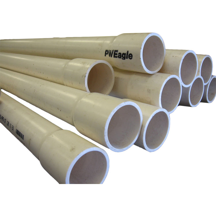 2-1/2 Inch Schedule 40 PVC Pipe, 5 Foot Length