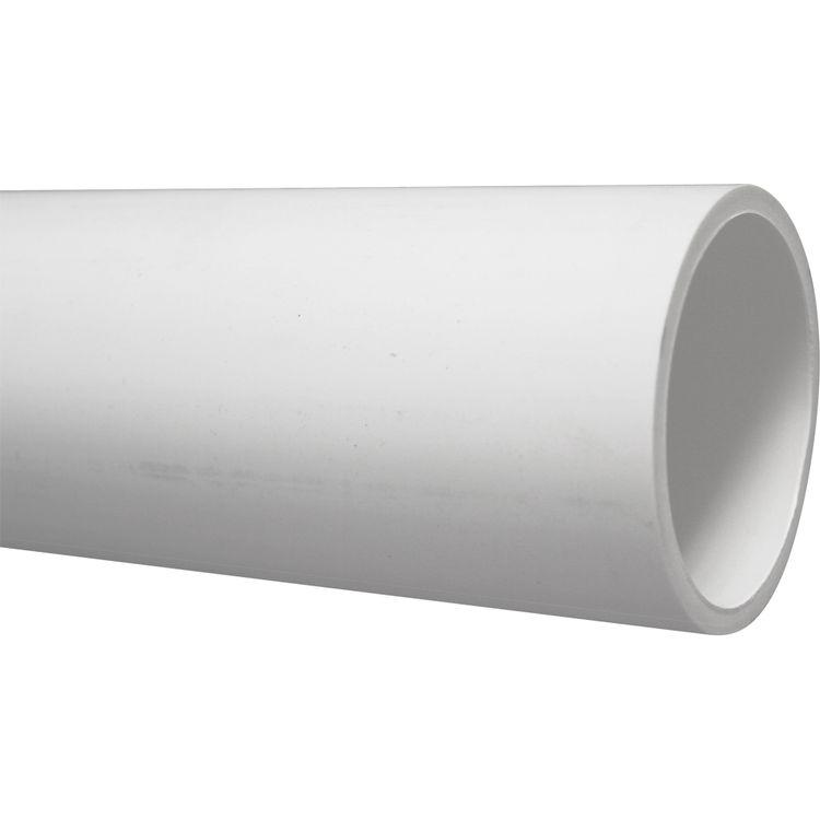 4 Inch PVC (DWV) C-Core Pipe, 5 Foot Length