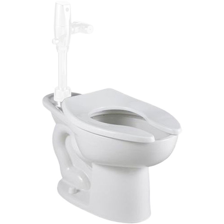 American Standard 3249.001.020 American Standard 3249.001.020 White Madera Elongated Toilet Bowl