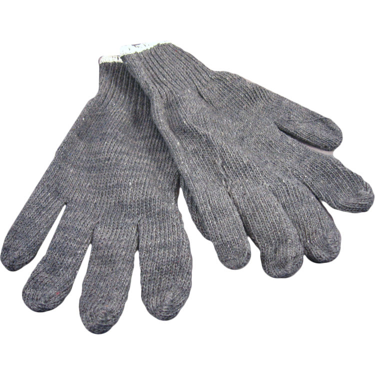 Seattle Glove G950-L Grey String Knit Heavy Weight Glove