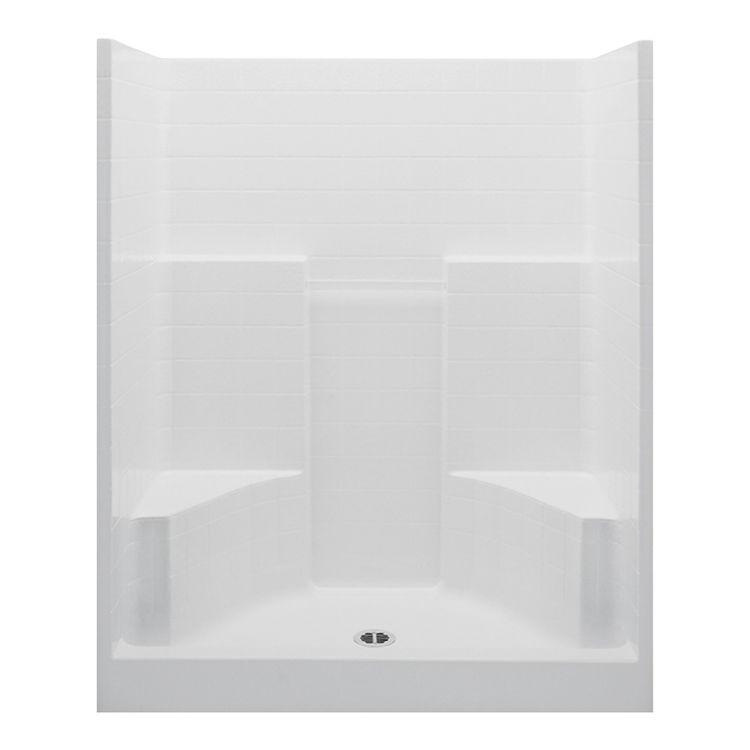 Aquatic 1603CTGN-WH Aquatic Bath 1603CTGN-WH White 60