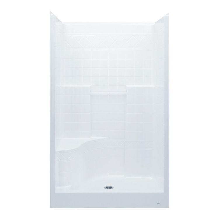 Aquatic 1483DTSL-WH Aquatic Bath 1483DTSL-WH White 48