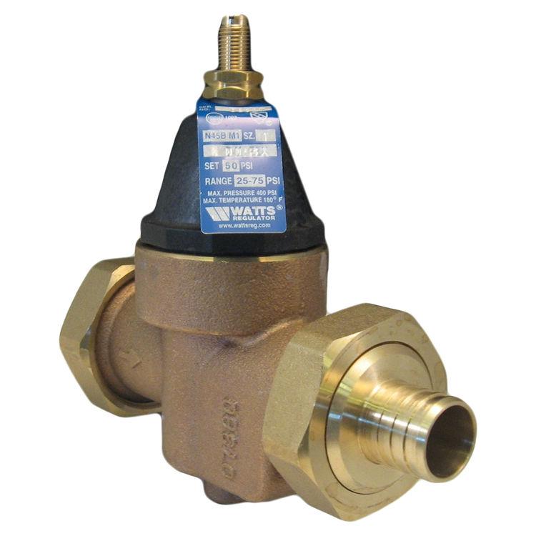 Watts N45bdu Ez M1 3 4 Water Pressure Reducing Valve Plumbersstock