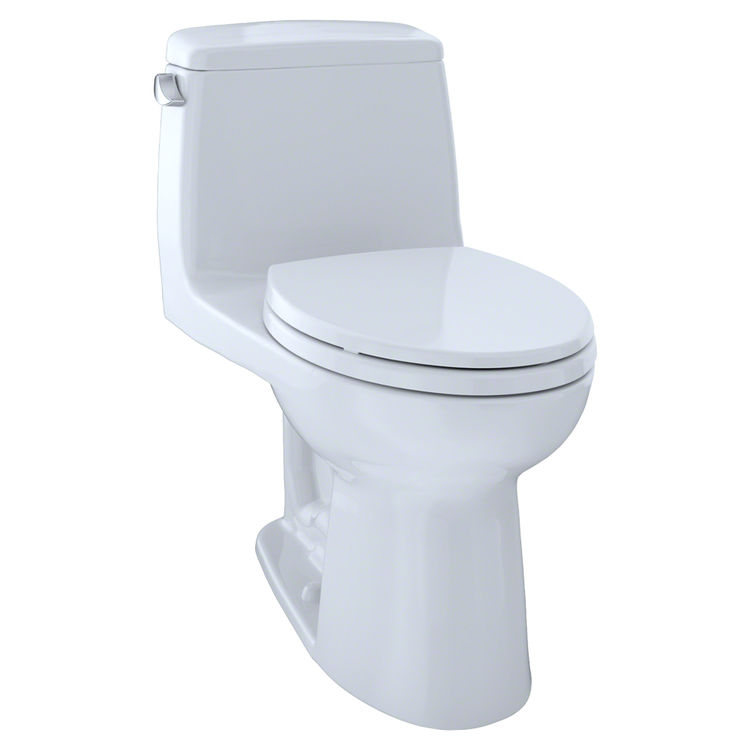 View 2 of Toto MS854114SL#01 TOTO UltraMax One-Piece Toilet - 1.6 GPF, Elongated, ADA, Cotton White - MS854114SL#01