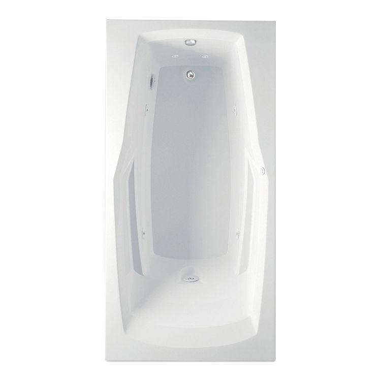 Aquatic 4360530-WH Aquatic Bath 4360530-WH White 60