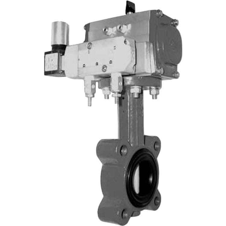 Honeywell VFF1FW1YCS Honeywell VFF1FW1YCS 2-Way 2-Inch Resilient Seat Butterfly Valve