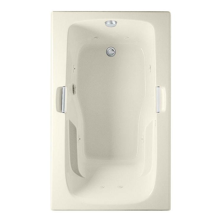 Aquatic 4160620V-BI Aquatic Bath 4160620-BI Biscuit 60