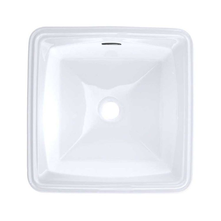 Toto LT491G 01 White Connelly Undermounted Bathroom Sink With SanaGloss  Glaze