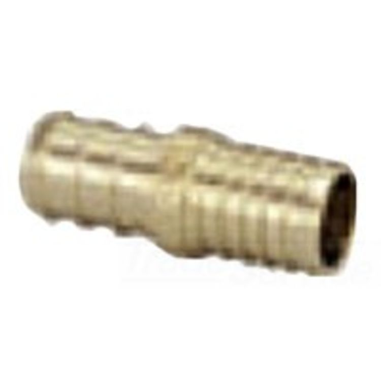 3/4 Inch Pex by 3/4 Inch Poly Adapter Coupling, Brass Construction