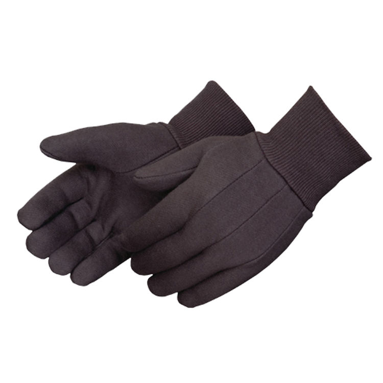 Commodity  Large Brown Jersey Glove Men's