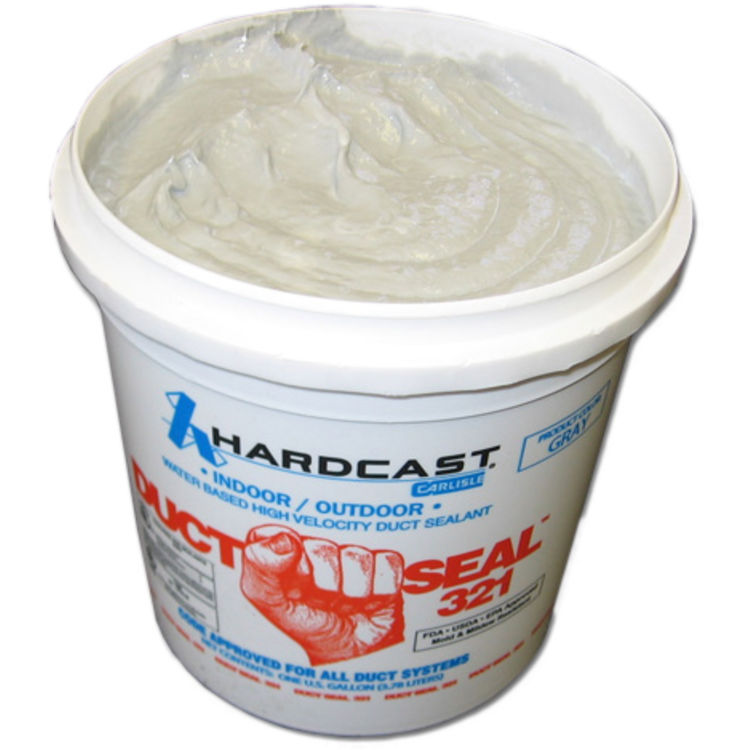 Hardcast 304156 Hardcast 304156 1 Gallon Duct Seal 321 Water Based Duct Sealant