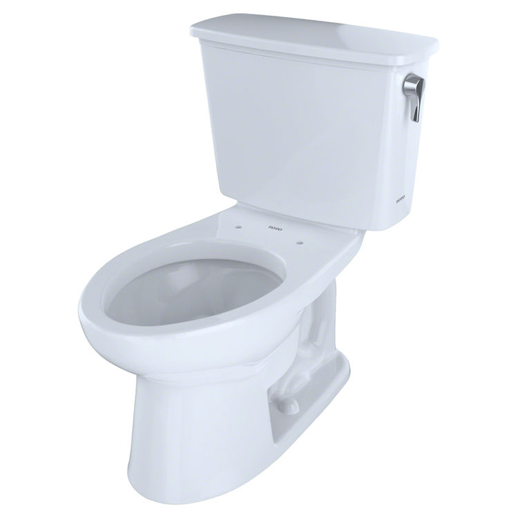 View 2 of Toto CST744EFRN.10#01 Toto CST744EFRN.10#01 Cotton White Two-Piece Elongated Toilet with Right Trip Lever