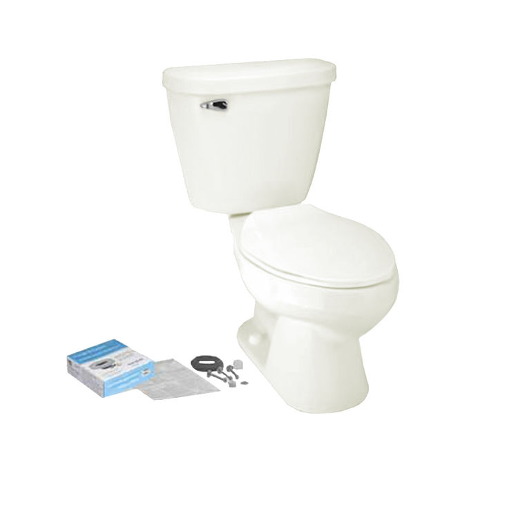 Mansfield 382CTK-BONE Mansfield 382CTK-Bone Summit 1.6 GPF Elongated Bowl Toilet
