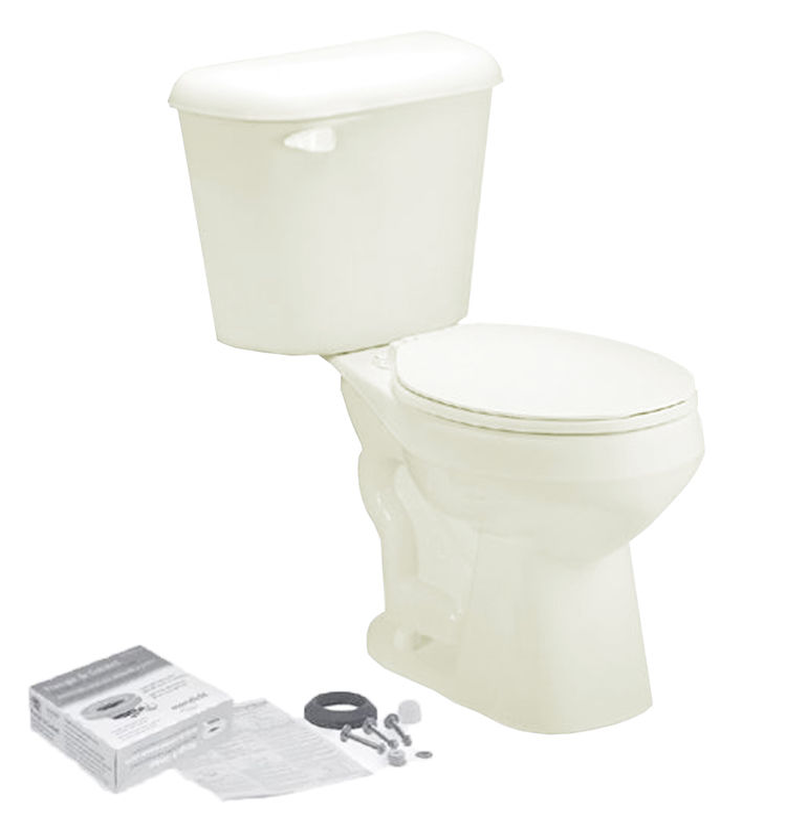 Mansfield 4130CTK-BONE Mansfield 4130CTK-Bone 1.28 GPF Alto Round Bowl Toilet