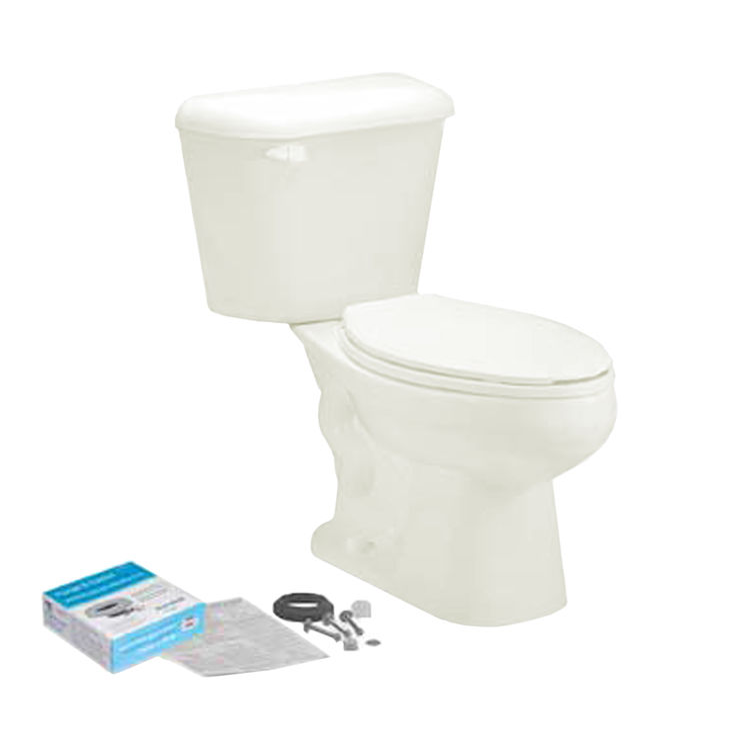 Mansfield 4135CTK-BONE Mansfield 4135CTK-Bone Pro-fit 2 1.28 GPF Elongated Bowl Toilet