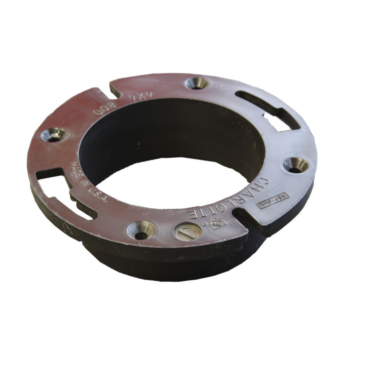 Commodity  4 Inch ABS Closet Flange, ABS Construction