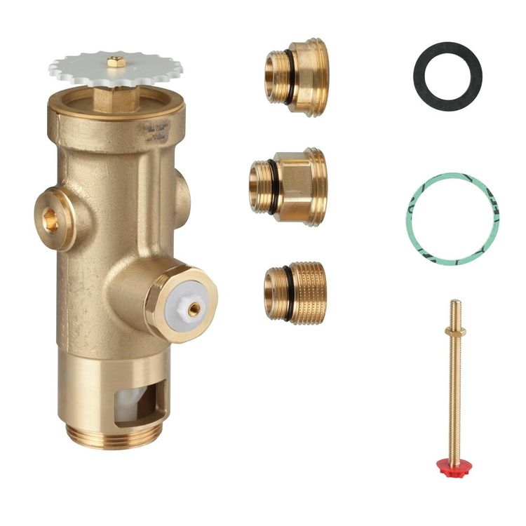 Grohe 43996000 Grohe 43996000 Wall Carrier Toilet Flush Valve
