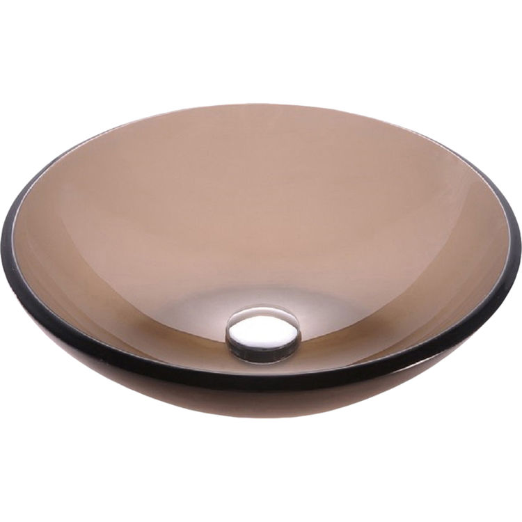 View 2 of Kraus GV-103FR-ORB Kraus GV-103FR-ORB Frosted Brown - Oil Rubbed Drain 17
