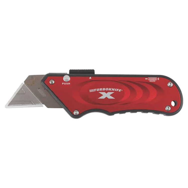 View 2 of Olympia 33-132 Olympia Tools TURBOKNIFE X 33-132 Utility Knife, Red