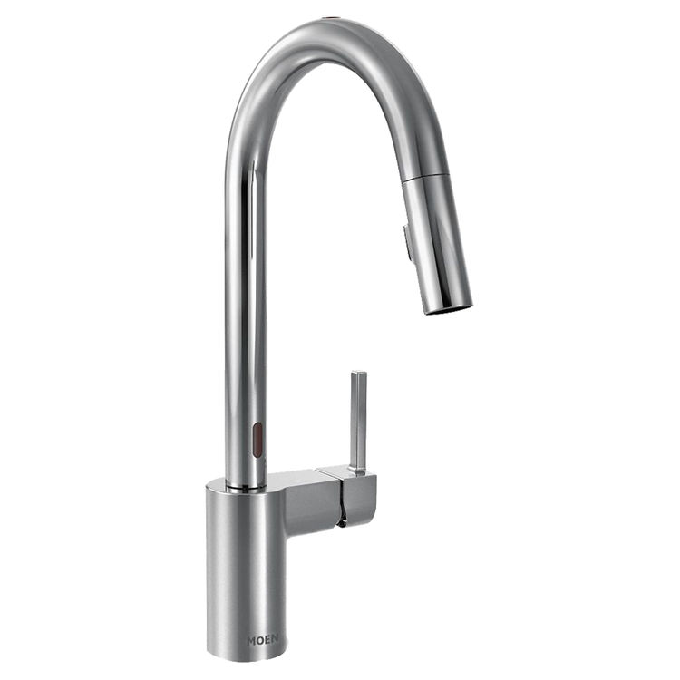 Moen 7565EC Align One-Handle Pull-Down Kitchen Faucet, Chrome