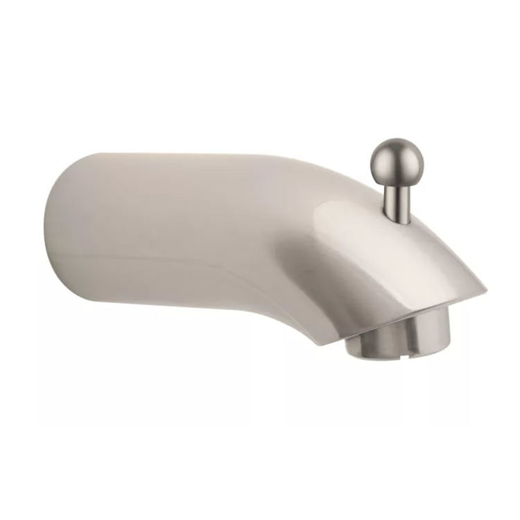 View 2 of Hansgrohe 06959820 Hansgrohe 06959820 E&S Accessories Diverter Tub Spout, Brushed Nickel