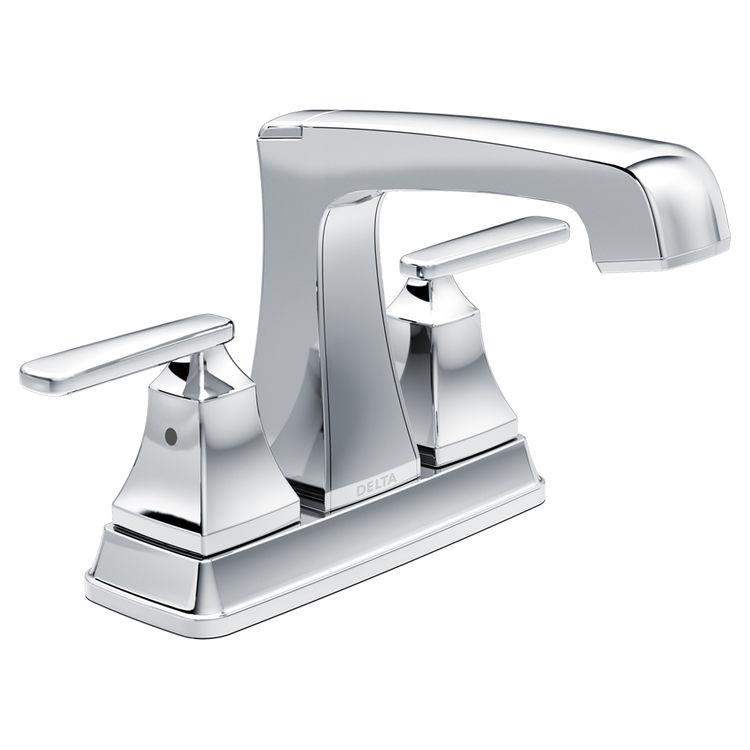 Delta 2564-TP-DST Delta 2564-TP-DST Ashlyn Chrome Two-Handle Lavatory Faucet