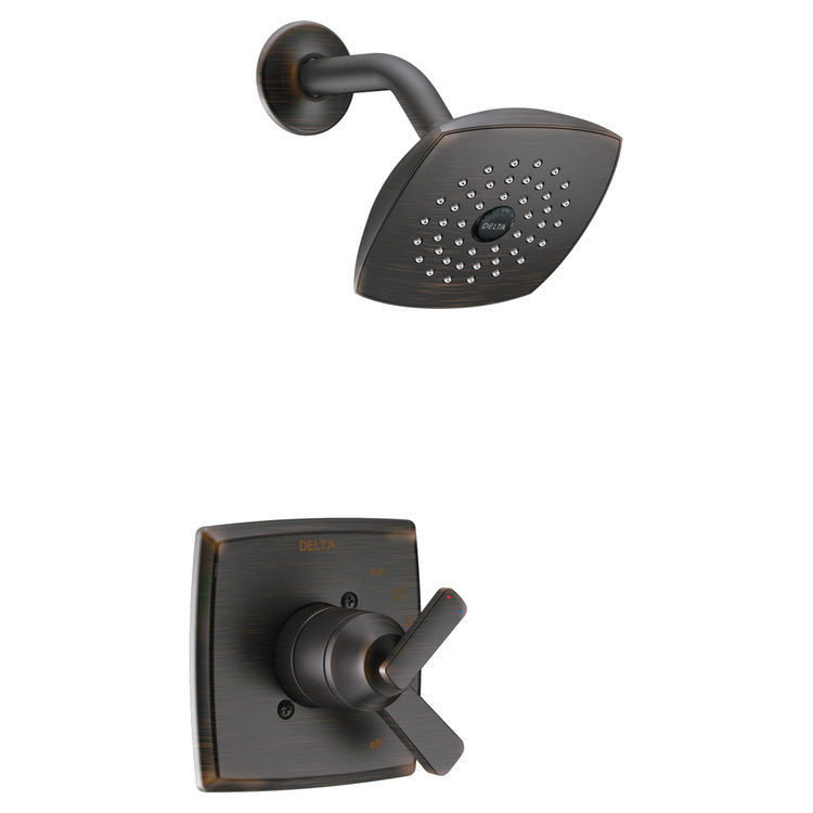 Delta T17464-RB Delta T17464-RB Venetian Bronze Ashlyn Monitor 17 Series Shower Trim