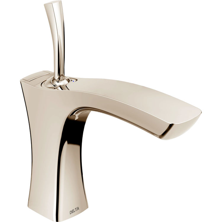 Delta 552LF-PNMPU Delta 552LF-PNMPU Polished Nickel Single Handle Lavatory Faucet