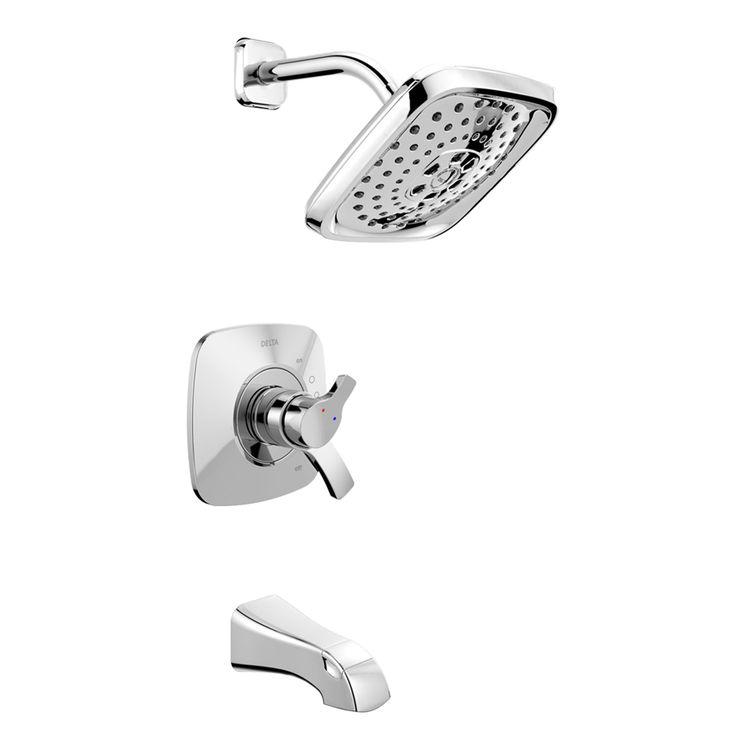 Delta T17452 Delta T17452 Chrome 17 Series Tub/Shower Trim