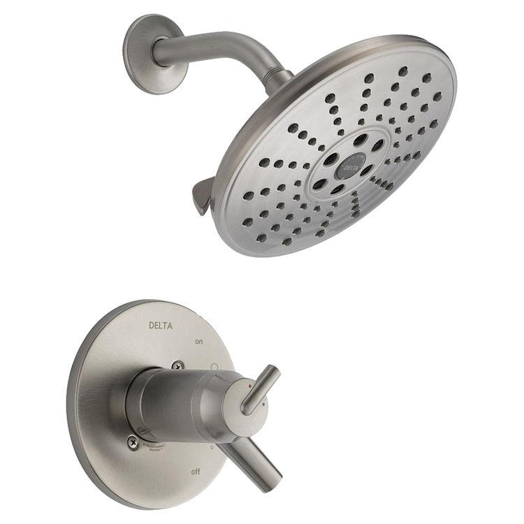 Delta T17T259-SSH2O Delta T17T259-SSH2O Stainless Tempassure Shower Only Trim