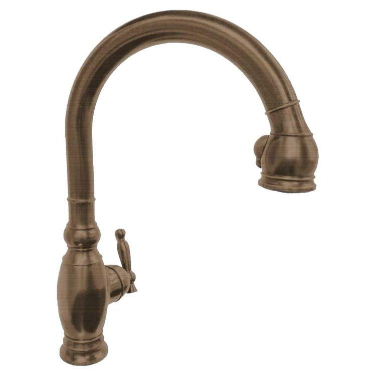Kohler K-690-BV Vinnata Pull-down Kitchen Faucet - Brushed Bronze