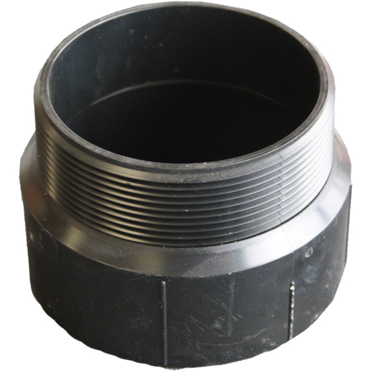 Commodity  1-1/2 Inch ABS Male Adapter, ABS Construction