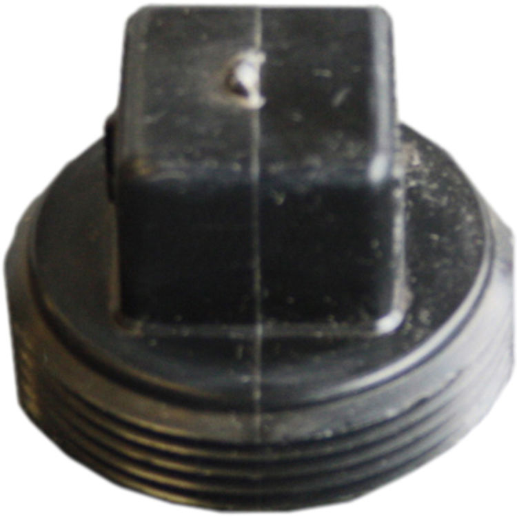Commodity  1-1/2 Inch ABS Threaded Plug, ABS Construction