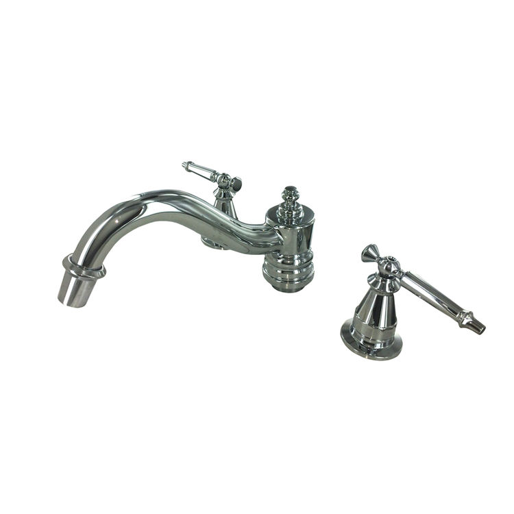 Kohler T125-4-CP Kohler K-T125-4-CP Polished Chrome Antique Bath Faucet Trim
