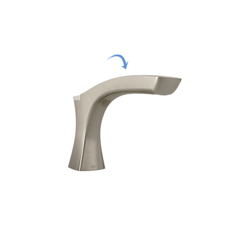 View 2 of Delta RP78520SS Delta RP78520SS Non-Diverter Roman Tub Spout Assembly, Stainless