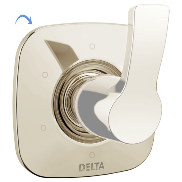 View 2 of Delta RP78704PN Delta RP78704PN 6-Function Diverter Escutcheon, Polished Nickel