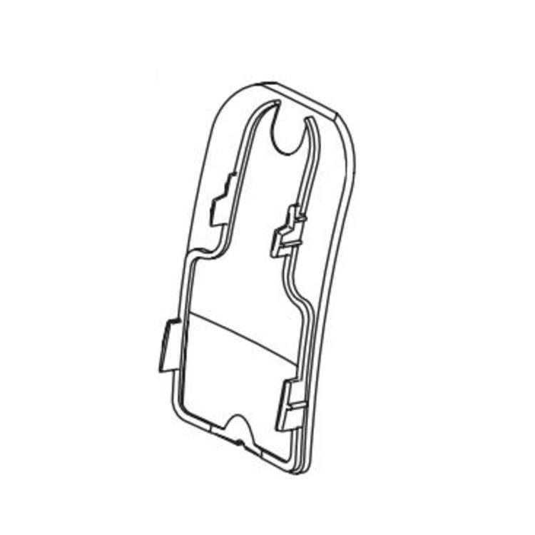 Delta RP78708 Delta RP78708 Tesla Button Cover for Bathroom Faucets, Chrome