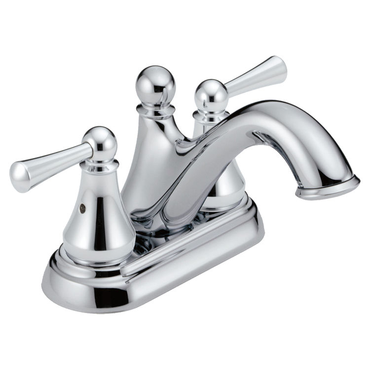View 2 of Delta 25999LF Delta 25999LF Haywood Centerset Bathroom Faucet with Pop-Up Drain, Chrome