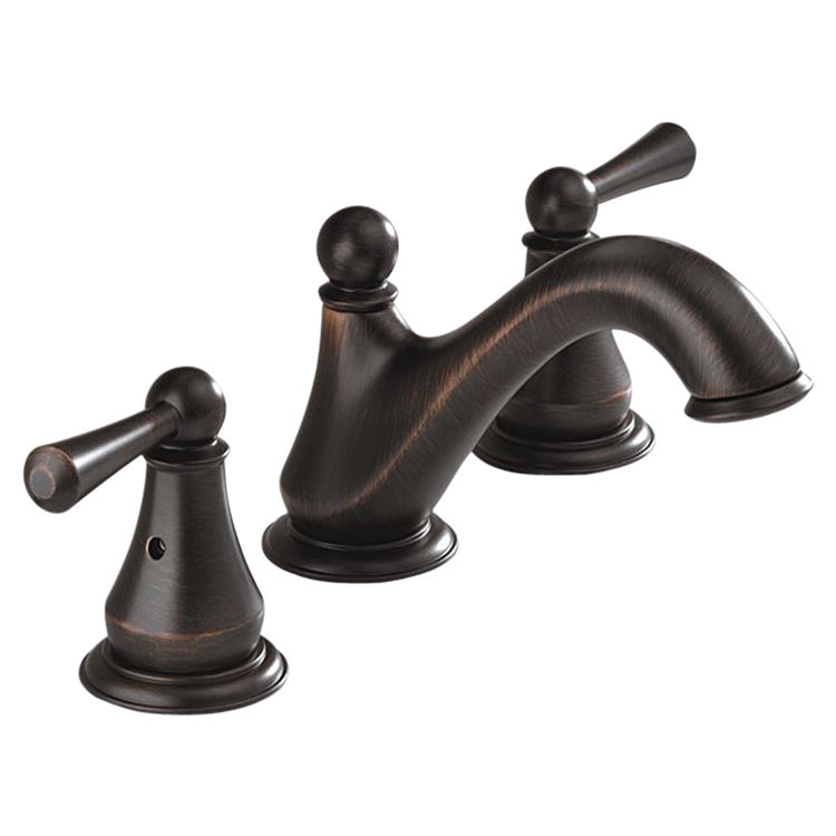 View 2 of Delta 35999LF-RB Delta 35999LF-RB Haywood Two-Handle Widespread Lavatory Faucet, Venetian Bronze