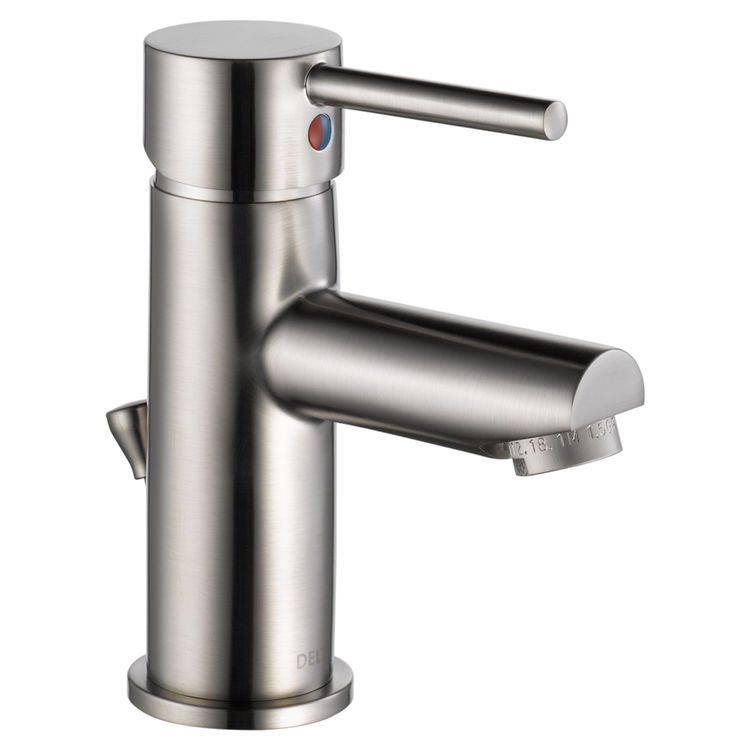View 2 of Delta 559LF-SSPP Delta 559LF-SSPP Modern Single Handle Project-Pack Lavatory Faucet, Stainless
