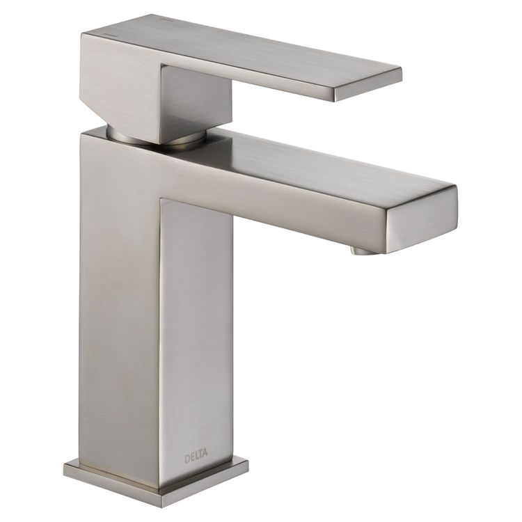View 2 of Delta 567LF-SSPP Delta 567LF-SSPP Modern Single-Handle Project-Pack Lavatory Faucet, Stainless