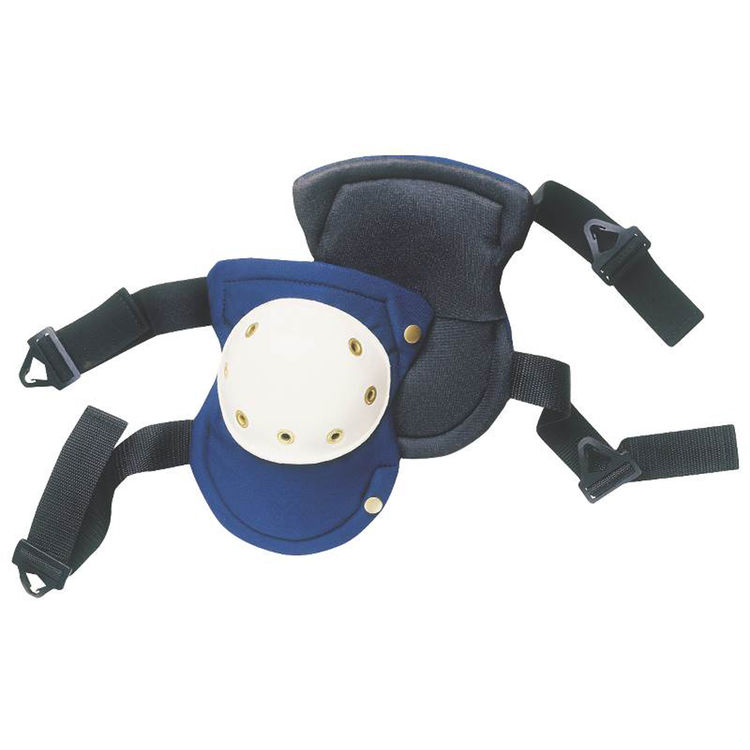 CLC V6355 Custom LeatherCraft Heavy-Duty Easy-Swivel Kneepads w/ Plastic Caps
