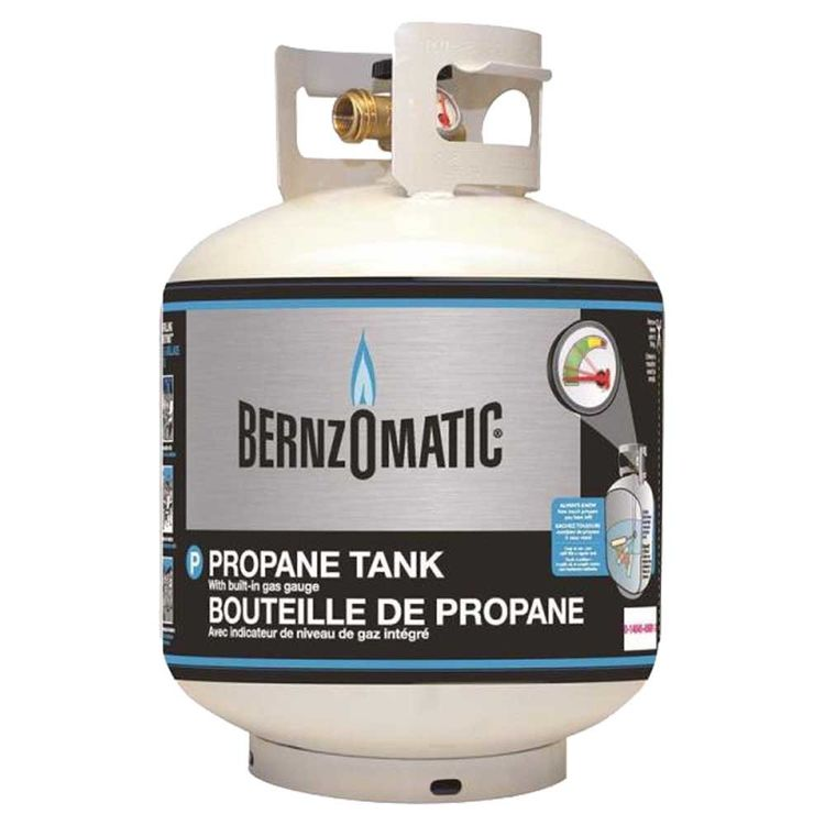 Bernzomatic 308551 Portable Propane Gas Cylinder, 5 gal, Steel