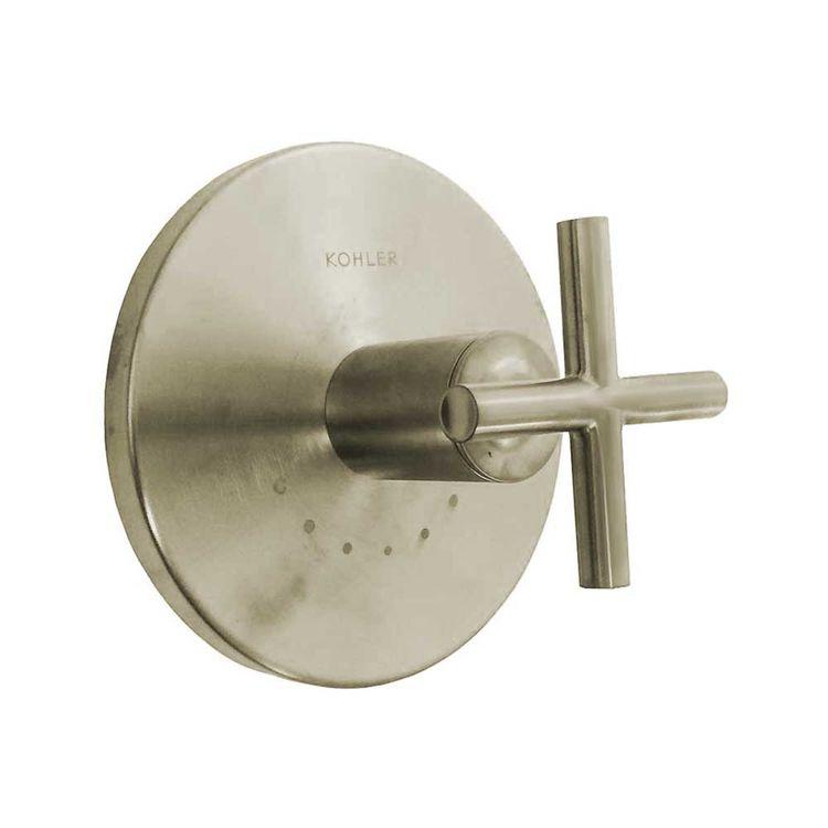 View 2 of Kohler T14488-3-BN Kohler K-T14488-3-BN Brushed Nickel Purist Thermostatic Valve Trim
