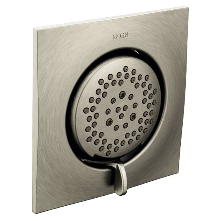 Moen TS1420BN Moen TS1420BN Mosaic Square Two-Function Body Spray, Brushed Nickel